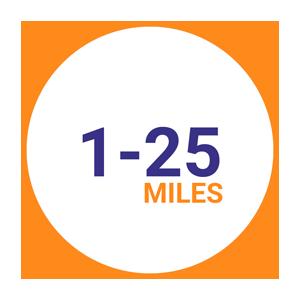 Move within 25 miles radius